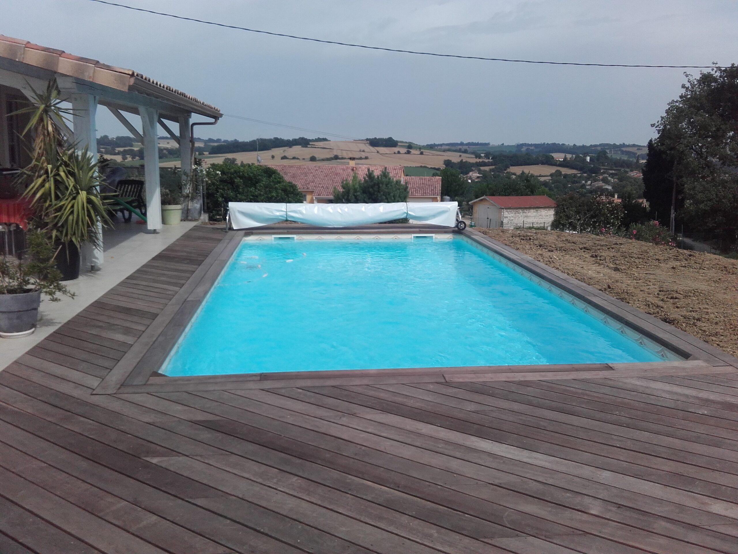 terrasse dallage Valence d'Agen