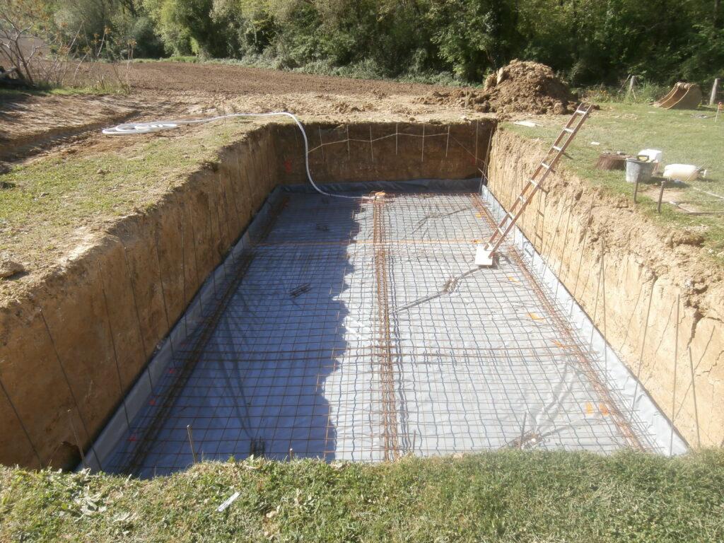 construction piscine traditionnelle agen